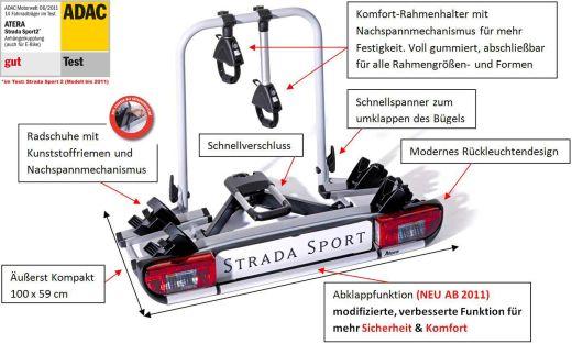 Atera Erweiterungssatz Strada Sport 3 auf 4 Fahrräder