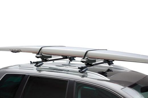 Surfbrett-Dachträger: Mit dachbox.ch und Thule transportieren Sie Ihr Surfbrett auf dem Autodach