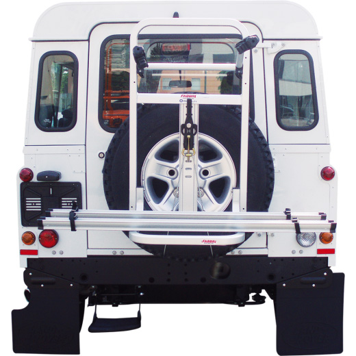 Heckklappenfahrradträger: auch ohne Anhängerkupplung mit dem Velo Huckepack auf Reisen gehen.